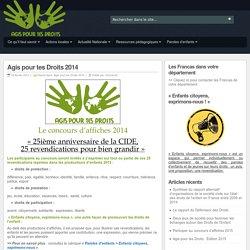Agis pour tes Droits 2014