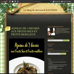 AGNEAU DE 7 HEURES AUX FRUITS SECS ET FRUITS MOELLEUX