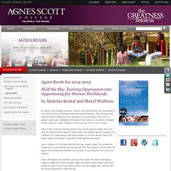Agnes Scott College - Agnes Reads