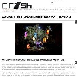 Agnona SS16 collection Milan - Crash