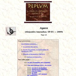 Agora (Alejandro Amenabar, 2009) (2/4)