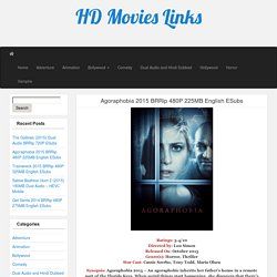 Agoraphobia 2015 BRRip 480P 225MB English ESubs