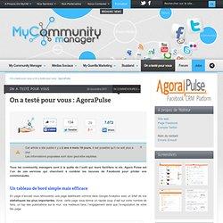 On a testé pour vous : AgoraPulse