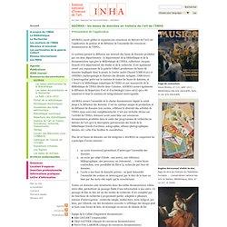 AGORHA : les bases de données en histoire de l'art de l'INHA
