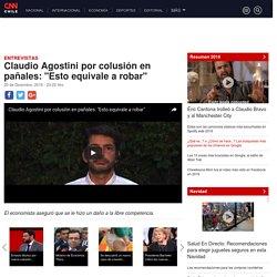 """Claudio Agostini por colusión en pañales: """"Esto equivale a robar"""""""