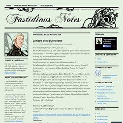 Fastidious Notes