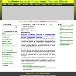 agrarioelmas - Progetto #IDENTITÀ virtuale e cyberbullismo