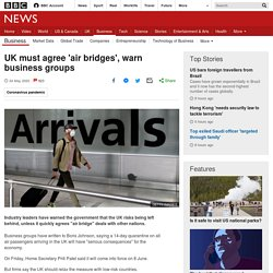 UK must agree 'air bridges', warn business groups