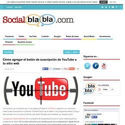 Cómo agregar el botón de suscripción de YouTube a tu sitio web