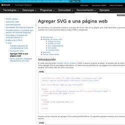 Agregar SVG a una página web