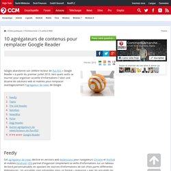 10 agrégateurs de contenus pour remplacer Google Reader