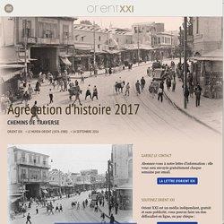 Agrégation d'histoire 2017