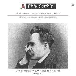Copie agrégation 2007 texte de Nietzsche (note 15)