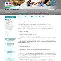 agrement Education Populaire Midi-Pyrénées