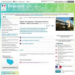 Obtenir son agrément «Entreprise sociale et solidaire» dans le Val-d'Oise