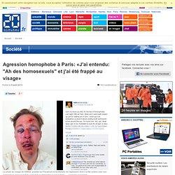 Agression homophobe: «J'ai sept fractures sur le visage et des morceaux d'os dans le crâne»