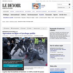 Agression en ligne et lynchage public