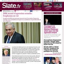 DSK accusé: l'explosion en vol