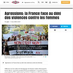 Agressions: la France face au déni des violences contre les femmes