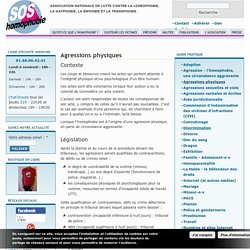 Agressions physiques