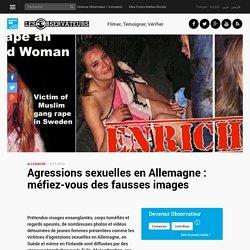 Agressions sexuelles en Allemagne : méfiez-vous des fausses images