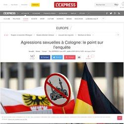 Agressions sexuelles à Cologne: le point sur l'enquête