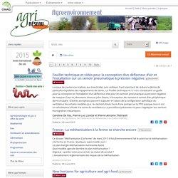 STATISTIQUE CANADA - 2011 - L'Enquête sur la gestion agroenvironnementale
