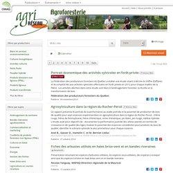 AGRIRESEAU - Agroforesterie.