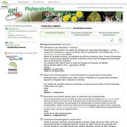 AGRIRESEAU MAI 2007 Bulletin d'information sur les travaux en cours sur l'écologie du roseau commun