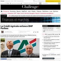 Le Crédit Agricole enfonce BNP Paribas - 19 février 2014