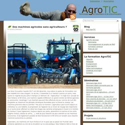 Des machines agricoles sans agriculteurs ?