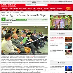 Nérac. Agriconfiance, la nouvelle étape - 27/03/2012 - ladepeche.fr