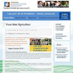 Fondation pour une Agriculture Durable en Aquitaine