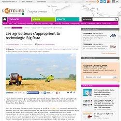 Les agriculteurs s'approprient la technologie Big Data