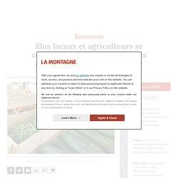 LA MONTAGNE 22/01/21 Elus locaux et agriculteurs se concertent pour développer les circuits courts dans le Cantal
