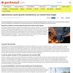 Introduction: Agriculteurs contre grande distribution, un combat bien inégal
