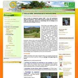 Visite de ferme: maraichage bio et photovoltaïque