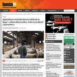 26 fév. 2021 Agriculteurs sinistrés dans la vallée de la Roya : « Nous allons rester, mais on va devoir s'accrocher