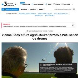 Vienne : des futurs agriculteurs formés à l'utilisation de drones