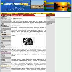 HISTORIA DE ENTRE RIOS - GUARANIES - CHANAS - CHARRUAS - CAZADORES - AGRICULTORES - PESCADORES