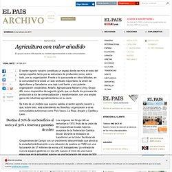 Agricultura con valor añadido · ELPAÍS.com