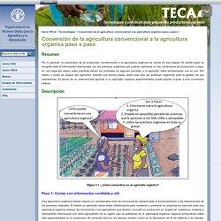 Conversión de la agricultura convencional a la agricultura orgánica paso a paso