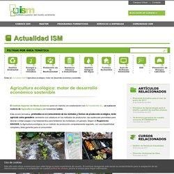 Agricultura Ecológica, curso online, impartido por el Instituto Superior del Medio Ambiente