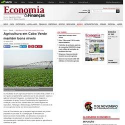 Agricultura em Cabo Verde mantém bons níveis - Jornal Economia & Finanças