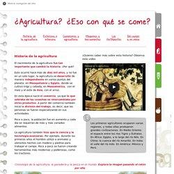 Historia de la agricultura - SIAP