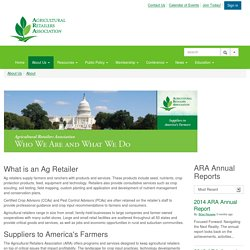 About - Agricultural Retailers Association