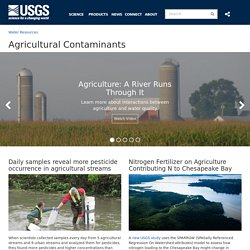 Agricultural Contaminants