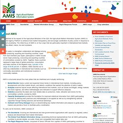 Agricultural Market Information System: About