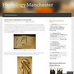 A New Year in the Agricultural Calendar « Herbology Manchester