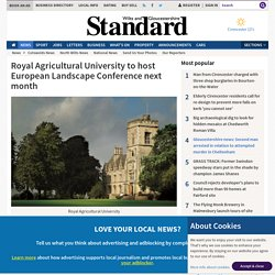 Royal Agricultural University to host European Landscape Conference next month